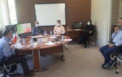 برگزاری جلسه هماهنگی رابطین و کارشناسان آموزش مجازی دانشکده ها